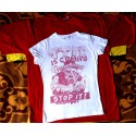 Tričko bílo červené