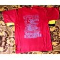 Tričko červeno šedé