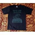 Tričko černo-zelené