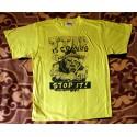 Tričko žluto-černé