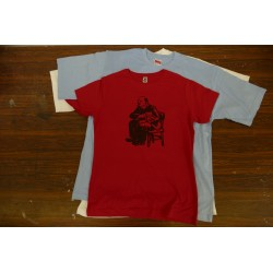 Tričko Lenin/kočka červené dámské